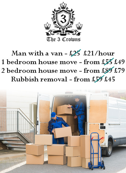 House removals rates for St Pancras