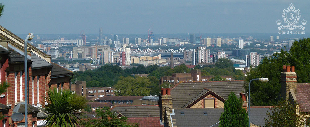 View of East London